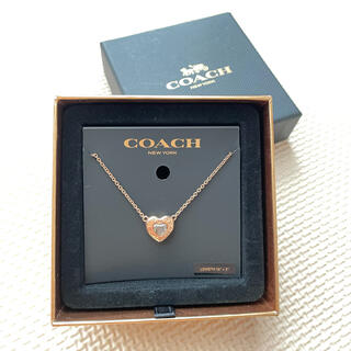コーチ(COACH)のお値下げ❤️新品未使用❤️COACH ハート ネックレス(ネックレス)