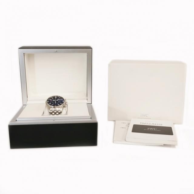 IWC(インターナショナルウォッチカンパニー)のIWC  パイロット・ウォッチ クロノ IW377710 自動巻き メン メンズの時計(腕時計(アナログ))の商品写真