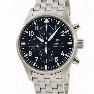 インターナショナルウォッチカンパニー(IWC)のIWC  パイロット・ウォッチ クロノ IW377710 自動巻き メン(腕時計(アナログ))