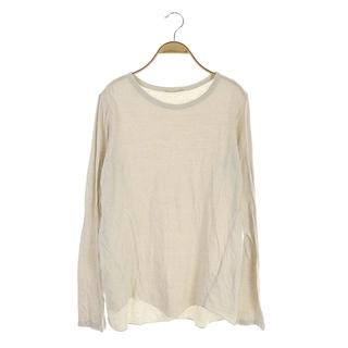 ドゥーズィエムクラス(DEUXIEME CLASSE)のドゥーズィエムクラス  Layering Tシャツ カットソー 長袖 ベージュ(Tシャツ(長袖/七分))