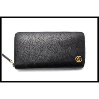 グッチ(Gucci)のGUCCI GGマーモント ラウンドファスナー 長財布■07au01546480(長財布)