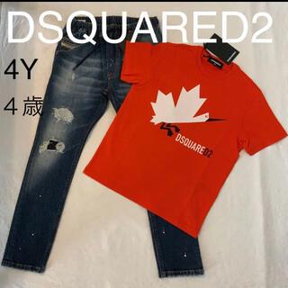 ディースクエアード(DSQUARED2)のdsquared2 キッズ  2021春夏新製品 T シャツ 4歳(Tシャツ/カットソー)