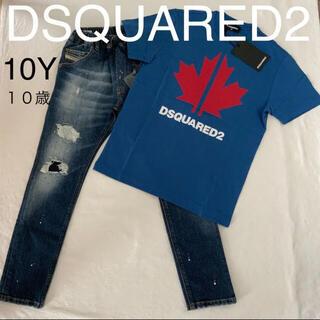 ディースクエアード(DSQUARED2)のdsquared2 キッズ  2021春夏新製品 T シャツ 10歳(Tシャツ/カットソー)