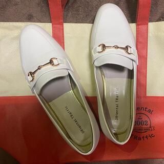 オリエンタルトラフィック(ORiental TRaffic)の【ORiental TRaffic】ビットモチーフローファー 23.5cm(ローファー/革靴)