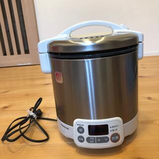 リンナイ(Rinnai)のガス炊飯器5合炊き 都市ガス用 ガスコード56センチ付き(炊飯器)