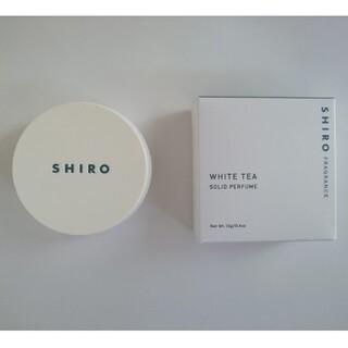 シロ(shiro)のshiro シロ 練り香水 ホワイトティー(ハンドクリーム)