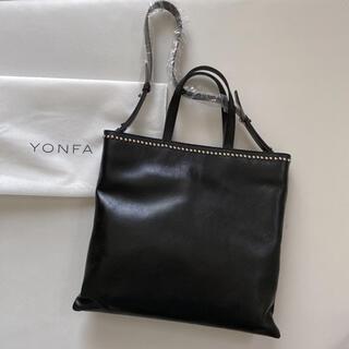 YONFA studs leather tote ヨンファ レザートート(トートバッグ)