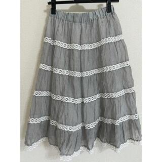 ジェーンマープル(JaneMarple)の最終価格 JaneMarple 20SS スカート(ひざ丈スカート)