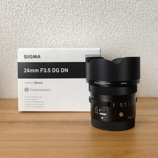 シグマ(SIGMA)のSIGMAシグマ 24mm F3.5 DG DN 単焦点ソニーE用(レンズ(単焦点))