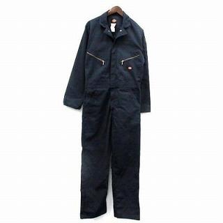 Dickies - ディッキーズ オールインワン オーバーオール つなぎ 作業着 長袖 紺