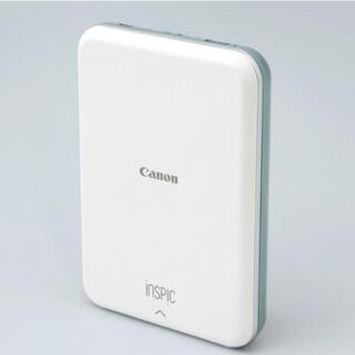 キヤノン(Canon)のCanon ミニプリンター iNSPiC PV-123 ブルー&専用用紙50枚(その他)
