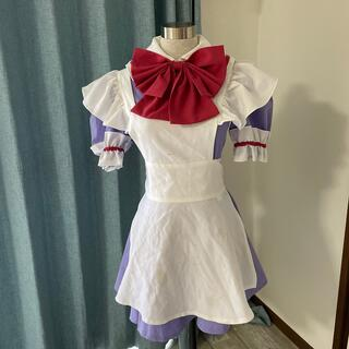 メイド服 紫(衣装一式)