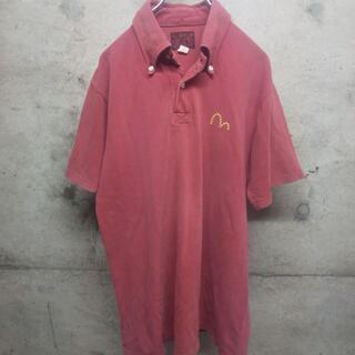 エビス(EVISU)のEVISU / エヴィス ポロシャツ 40 ワンポイント ロゴ 鹿の子 刺繍(ポロシャツ)