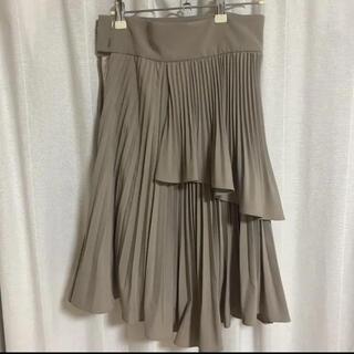 snidel - プリーツフレアミニスカート