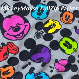 ディズニー(Disney)のDisney ディズニーランド ミッキー マウス フルジップ パーカー(パーカー)
