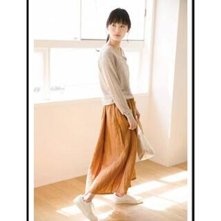 ムジルシリョウヒン(MUJI (無印良品))の無印 リネンスカート S(ロングスカート)