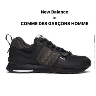 COMME des GARCONS HOMME PLUS - 【新品】コム デ ギャルソン オム × ニューバランス 574I ブラック 27
