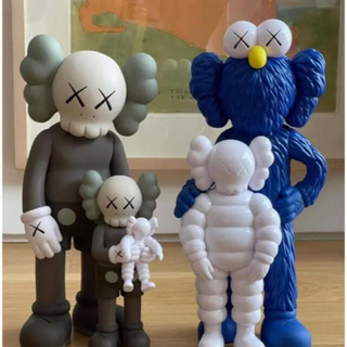 KAWS FAMILY BROWN/BLUE/WHITE 24時間以内発送(その他)