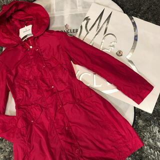 モンクレール(MONCLER)のモンクレール 正規品 AUDREY サイズ12A ピンク 美品(ナイロンジャケット)
