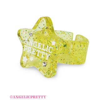 アンジェリックプリティー(Angelic Pretty)のangelic pretty  Galaxy Twinkle  イエロー(リング(指輪))