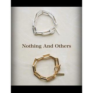 フィリップオーディベール(Philippe Audibert)の今期購入NothingAndOthers ナッシングアンドアザーズブレスレット(ブレスレット/バングル)