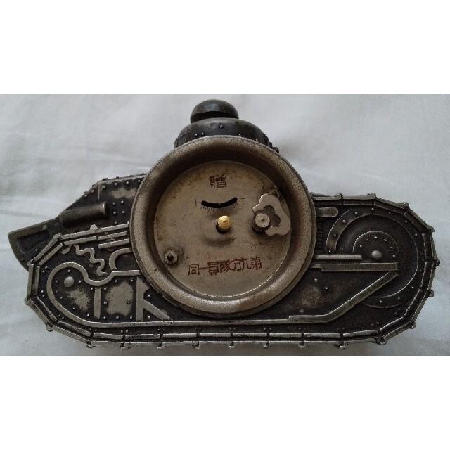 SEIKO(セイコー)の精工舎の戦車時計・戦時中貴重な逸品 インテリア/住まい/日用品のインテリア小物(置時計)の商品写真