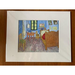 モマ(MOMA)のパリで購入 ゴッホ ゴッホの寝室 アルルの寝室(絵画/タペストリー)