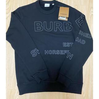 BURBERRY - BURBERRY バーバリー❗️新品人気sweatshirt XSサイズ 値交渉