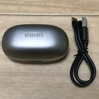 マクセル(maxell)のmaxell MXH-BTW2000 ホワイト 完全ワイヤレスカナル型ヘッドホン(ヘッドフォン/イヤフォン)