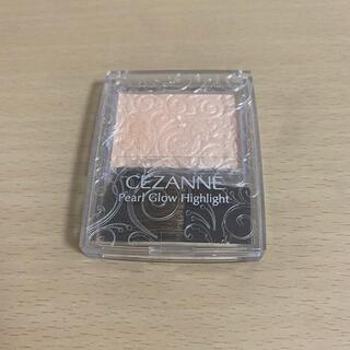 セザンヌケショウヒン(CEZANNE(セザンヌ化粧品))のセザンヌ パールグロウハイライト 01シャンパンベージュ(フェイスカラー)