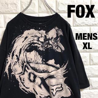 FOX  バイク 染み込みプリント Tシャツ メンズXLサイズ(Tシャツ/カットソー(半袖/袖なし))