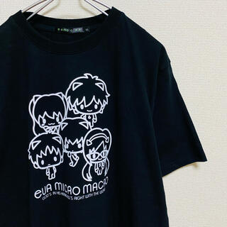 シマムラ(しまむら)の美品 新世紀エヴァンゲリオン EVA MICROMACRO Tシャツ ブラック(Tシャツ/カットソー(半袖/袖なし))