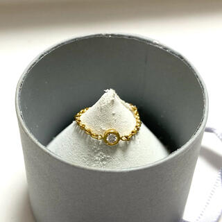 ディオール(Dior)のDior ミミウィ ダイヤ リング ピンキーリング(リング(指輪))