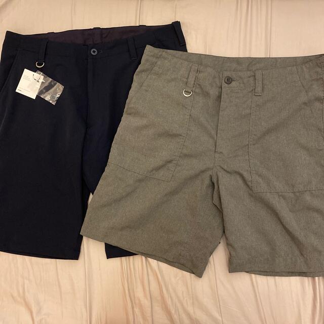 uniform experiment(ユニフォームエクスペリメント)のUE uniform experiment ショートパンツ グレー サイズ4 メンズのパンツ(ショートパンツ)の商品写真