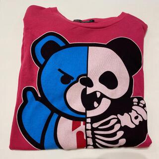 ジョーイヒステリック(JOEY HYSTERIC)のスケルトンベア tシャツ(Tシャツ/カットソー)