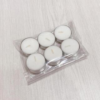 kameyama ティーライトティン 6個(キャンドル)