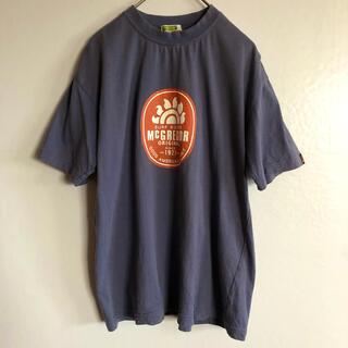 マックレガー(McGREGOR)のマックレガー Tシャツ 半袖 薄紫 ビッグラバープリント ヴィンテージ 90s(Tシャツ/カットソー(半袖/袖なし))