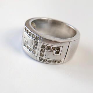 ヴィンテージ シルバーリング 12号 太幅指輪アクセサリージュエリーユニセックス(リング(指輪))