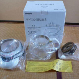 HARIO - HARIOマイコン煎じ器 HMJ3-1000(W)