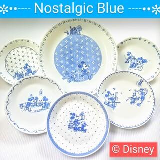 Disney - 【新品未使用】Disney  パーティーセット 大小 絵皿  陶器/食器/器