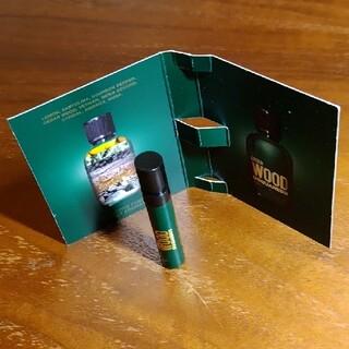 ディースクエアード(DSQUARED2)のディースクエアード ウッドグリーン 1ml(香水(男性用))