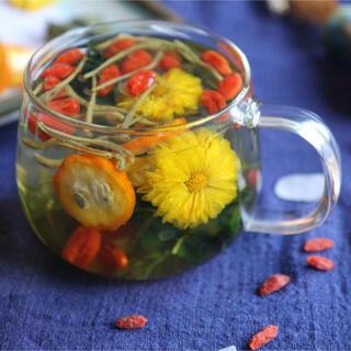 金銀花&菊花茶 健康茶 薬膳茶 漢方茶 美容茶 花茶 ハーブティー 中国茶(健康茶)