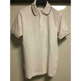 ムジルシリョウヒン(MUJI (無印良品))の【新品・未使用】無印良品 ライン入りポロシャツ(ポロシャツ)