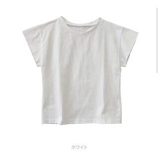 シールームリン(SeaRoomlynn)のsearoomlynn サークルネックTシャツ ホワイト(Tシャツ(半袖/袖なし))