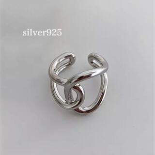トゥデイフル(TODAYFUL)のsilver925  変形リング(リング(指輪))