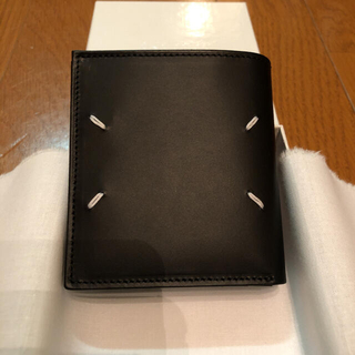Maison Martin Margiela - Maison Margiela メゾンマルジェラ 折り財布 ブラック 新品未使用