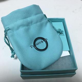 ティファニー(Tiffany & Co.)のティファニー ブラック リング(リング(指輪))