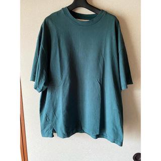 サンシー(SUNSEA)のwonderland サイドスリットTシャツ(Tシャツ(半袖/袖なし))