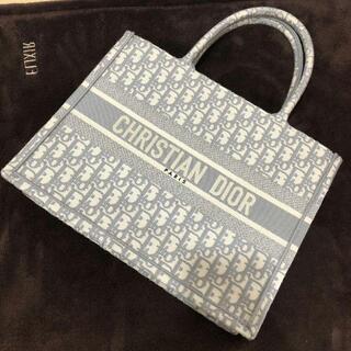 クリスチャンディオール(Christian Dior)の美品 クリスチャンディオール ブックトートバック(ハンドバッグ)