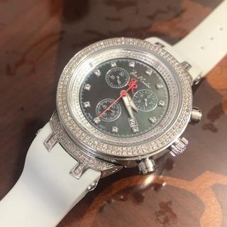 AVALANCHE - ジョーロデオ マスター  ダイヤモンドウォッチ  クロノグラフ  時計 美品